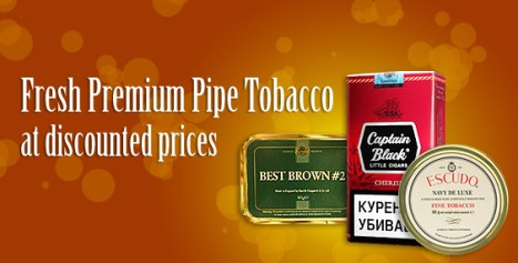 Fresh Premium Pipe Tobacco at discounted prices