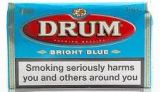 Drum Bright Blue Rolling Tobacco made in Netherlands. 40 x 50 g, 2 kilo total. Free shipping!