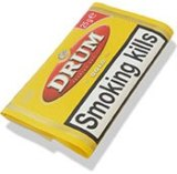 Super Special Drum Yellow Rolling Tobacco made in Netherlands. 50 x 40 g. pouches, 2 kilo total.