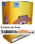 Old Holborn Yellow Rolling Tobacco made in EU, 40 x 50 g pouches. 2 kilo total. Free shipping!