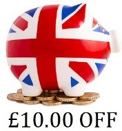 10.00 GBP Off for any Pipe Tobacco order. Add to your cart before checking out. 1 coupon per order.