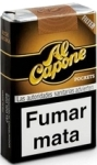 Al Capone Pockets Rich Filtered Mini Cigars. 10 packs x 10, 100 total.