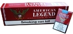 American Legend King Box Cigarettes made in Greece, 6 cartons, 60 packs. Free Shipping!