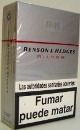 Benson & Hedges Silver cigarettes made in EU, 6 cartons, 60 packs. Free shipping!