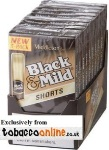 Black & Mild By Middleton Short cigars made in USA. 4 x box of 50, 200 total. Free shipping!