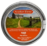 Brigham Acadian Blend Pipe Tobacco. 50g tin.