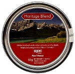 Brigham Heritage Blend Pipe Tobacco. 50g tin.