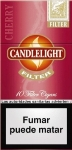 Candlelight Filter Cherry Mini Cigars. 10 x 10 pack, 100 total.