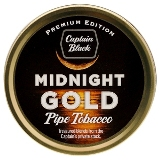 Captain Black Premium Edition Midnight Gold Pipe Tobacco, 50 g tin.