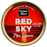 Captain Black Premium Edition Red Sky Pipe Tobacco, 50 g tin.
