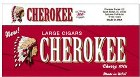Cherokee Cherry 100s Little cigars made in USA. 5 cartons plus 1 Free! 1200 cigars total.