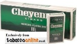 Cheyenne Menthol Filtered Cigars made in USA. 6 x cartons of 200. 1200 total.