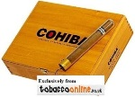 Cohiba Crystal Corona Cigars made in Dominican Republic. Box of 20.