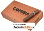 Cohiba Robusto Cigars made in Dominican Republic. Box of 25.