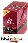 Djarum Wood Tip Cherry Cigars made in Indonesia. 3 x Box of 50, 150 total.