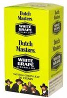 Dutch Masters Cigarillos White Grape made in USA, 4 x 25 ct. 100 cigars total.