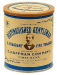 E. Hoffman Company Distinguished Gentleman Pipe Tobacco. 198 g tin.