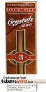 Garcia Y Vega Crystal #100 5/3 Tubes Natural Cigars. 5 x 15 pack.