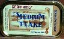 Germains Medium Flake Pipe Tobacco, 50 g tin.