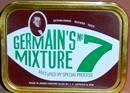 Germains No. 7 Mixture Pipe Tobacco, 50 g tin.