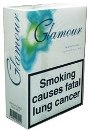 Glamour Menthol Superslims 100s Cigarettes made in EU, 6 cartons, 60 packs. Free shipping!