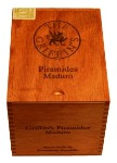 Griffins Maduro Piramides cigars made in Dominican Republic. Box of 25.