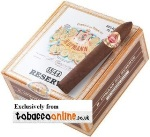 H Upmann Reserve Belicoso Cigars made in Dominican Republic. Box of 20.
