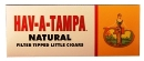 Hav A Tampa Little Natural Filtered Cigars, 3 x 200ct. , 600 total.