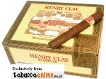 Henry Clay Brevas Maduro Cigars made in Dominican Republic. Box of 50.