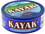 Kayak Long Cut Mint Chewing Tobacco made in USA, 10 x 5 can roll, 50 cans, 1700g total.