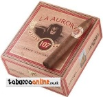 La Aurora 107 Belicoso Cigars made in Dominican Republic. Box of 21.
