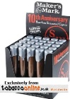 Makers Mark 10th Anniversary Cigars, Box of 25.