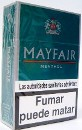 Mayfair Menthol cigarettes from Spain
