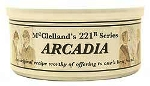 McClelland Tinned 221-B Series Arcadia pipe tobacco. 50 g tin.