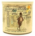 McClelland Tinned Craftsbury Frog Morton on the Town pipe tobacco. 100 g tin.