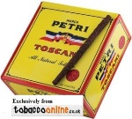 Petri Toscani Cigars made in USA. 4 x Box of 50. 200 total.