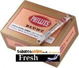 Phillies Blunt Natural Cigars made in USA, 2 x 55ct Box. Free shipping!