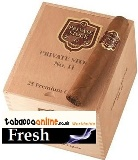 Private Stock No.11 cigars made in Dominican Republic. Box of 25. Free shipping!