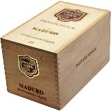 Private Stock No.14 Maduro cigars made in Dominican Republic. Box of 25. Free shipping!