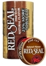 Red Seal Fine Cut Natural Chewing Tobacco, 4 x 5 can rolls, 680 g total. Ships free!