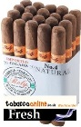 Roly #4 natural cigars made in Honduras. 3 x Bundle of 20. 60 total. Free shipping!