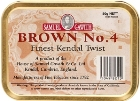 Samuel Gawith Brown No. 4 Tinned Pipe Tobacco. 50 g tin. Free shipping!