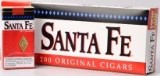 Santa Fe Little Filtered Original Cigars made in USA. 4 x cartons of 10 packs of 20. Free shipping!