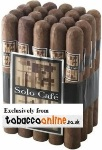 Solo Cafe Toro Cigars made in Dominican Republic. 3 x Bundle of 20, 60 total.