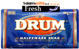 Drum Halfzware Shag Rolling Tobacco made in USA.1152 g in 32 g pouches. Free Shipping!
