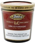 Stokers Long Cut Straight Snuff Tobacco made in USA. 5 x 340 g tubes. 1700 g total.