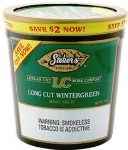 Stokers Long Cut Wintergreen Snuff Tobacco made in USA. 5 x 340 g tubes. 1700 g total.