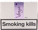 Vogue Lilas Superslim Cigarettes made in EU, 6 cartons, 60 packs. Free shipping!