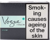 Vogue Menthol Frisson Superslim Cigarettes made in EU, 60 packs, 6 cartons. Free shipping!