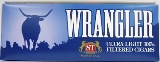 Wrangler Ultra Blue Filtered Little Cigars made in USA. 4 x cartons of 10 packs of 20. Ships free!